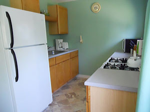 Bar Harbor rental apartment Kitchen